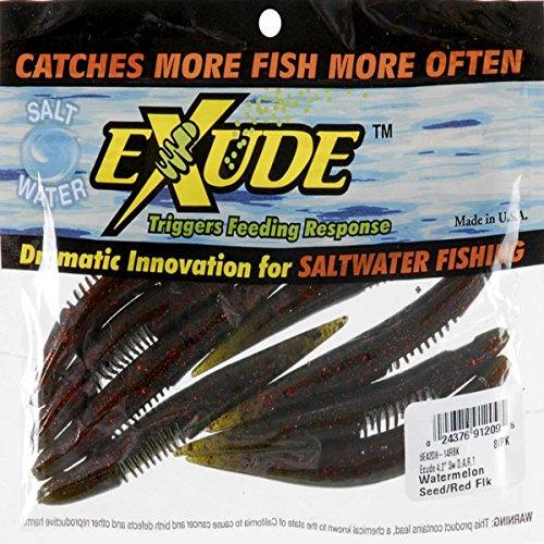 """Signor Twister LLC Exude Saltwater Dart 4 1/4 """"Mangrove Red 8per Bag # SE42D8-14RBK"""