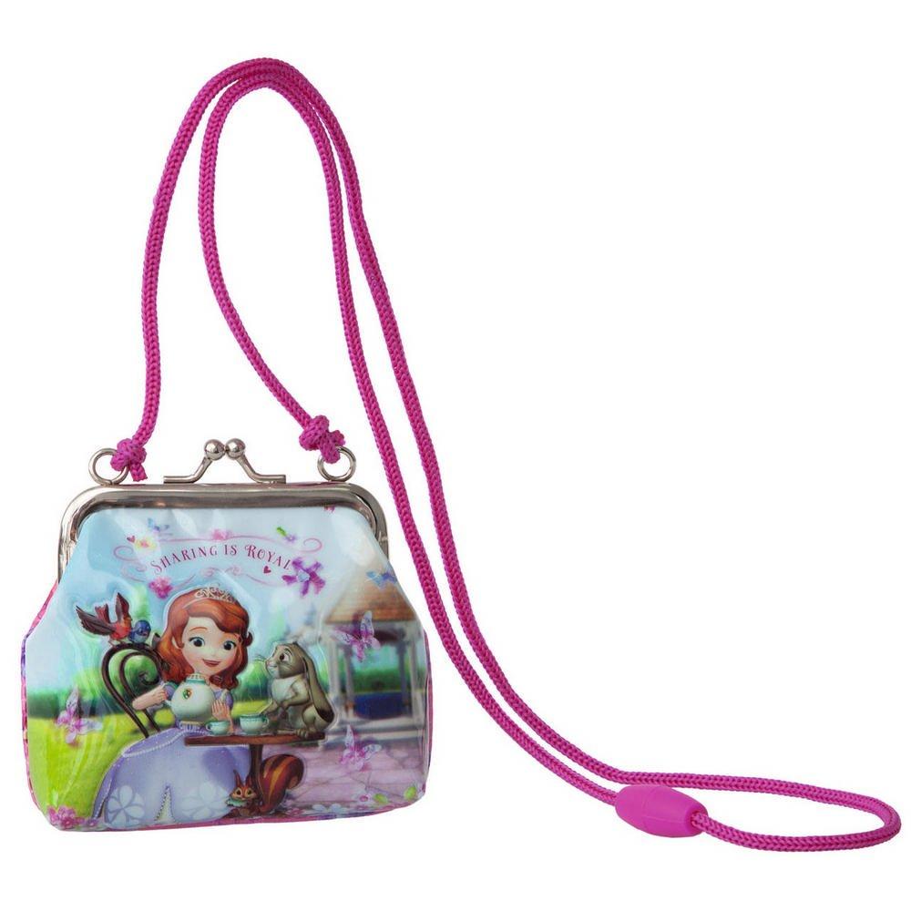 Disney Principessa Sofia Tracolla Portamonete, Rosa 2046151