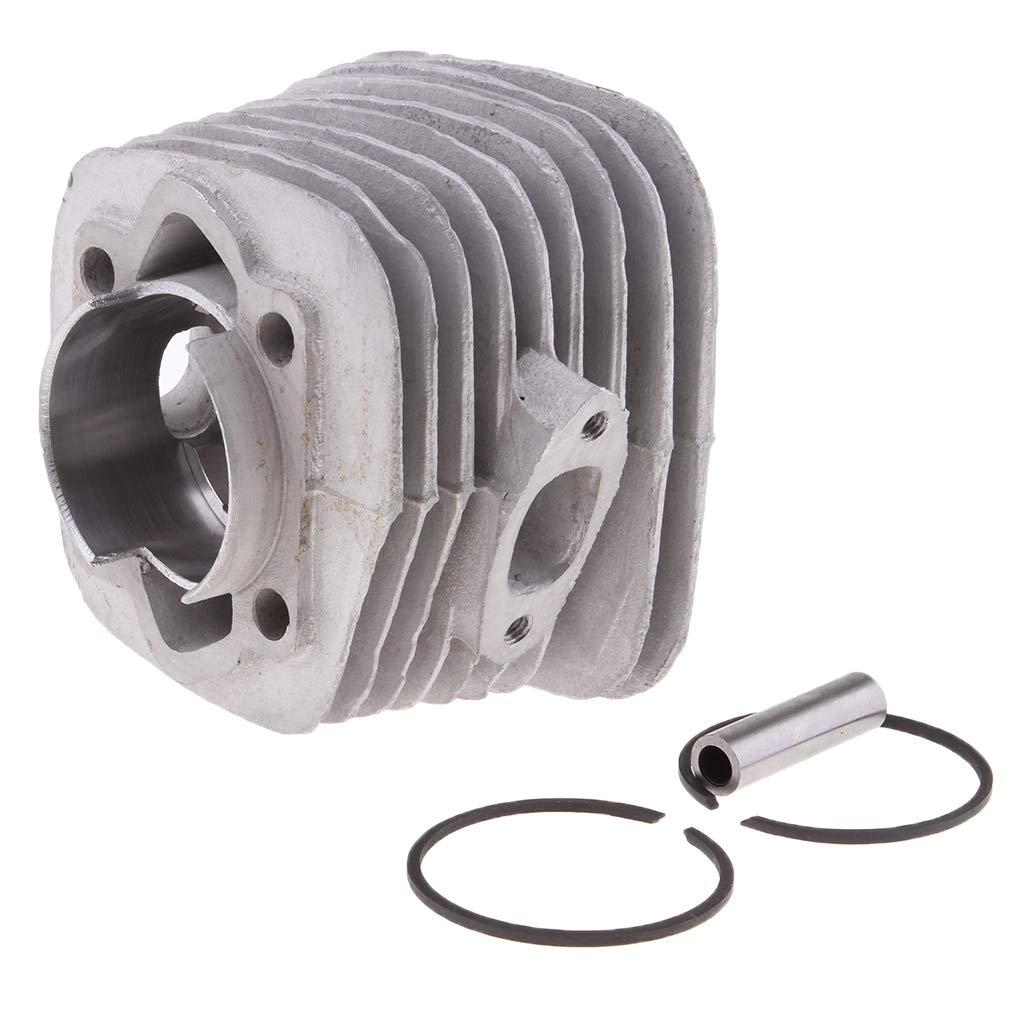 B Baosity Kit Anello Testa Cilindro Motore Con Alesaggio 47mm Per Bici Motorizzata A Gas 66CC 80CC