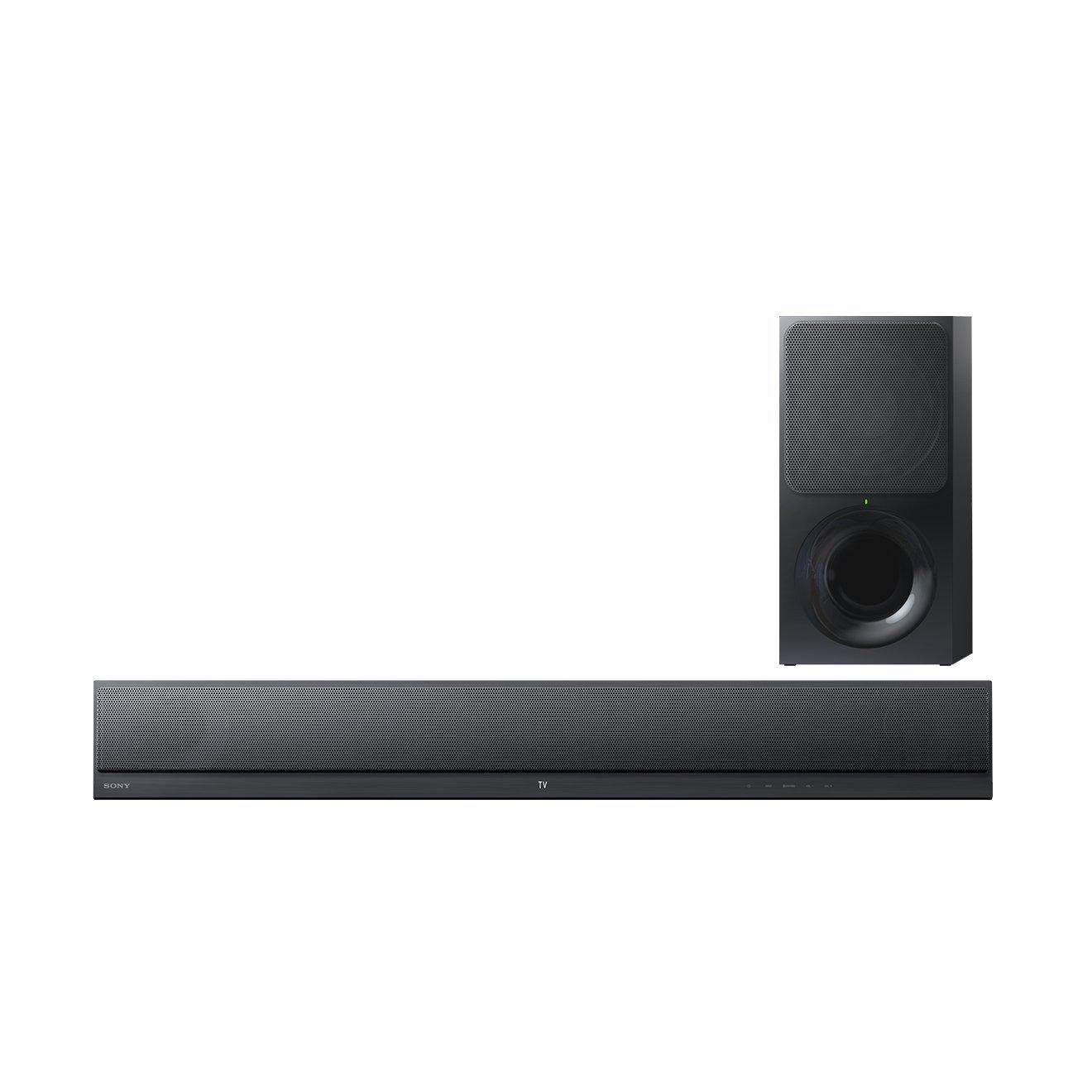 Sony HTCT390 - Barra de Sonido Ultrafina (2.1 Canales con Bluetooth, NFC, 300 W), Color Negro