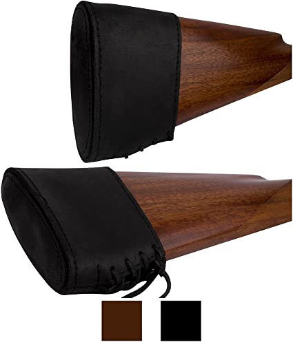 Made in Europe! Slip On Recoil Pad Genuine Leather Shotgun Rifle Butt stock