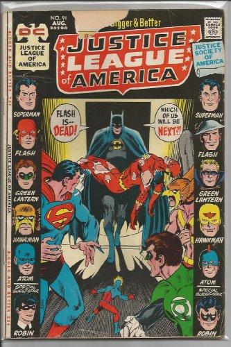 Justice League of America #91 (Justice League 91 America)
