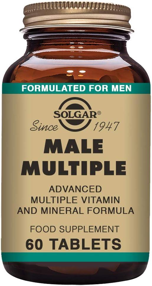 Solgar Male Múltiple - 60 Tabletas: Amazon.es: Salud y cuidado ...