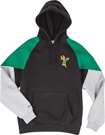 fd3a7a4e4 Amazon.com: Mitchell & Ness Milwaukee Bucks Black Green Trading Block Hoody Hoodie  Sweater Herren Mens: Clothing