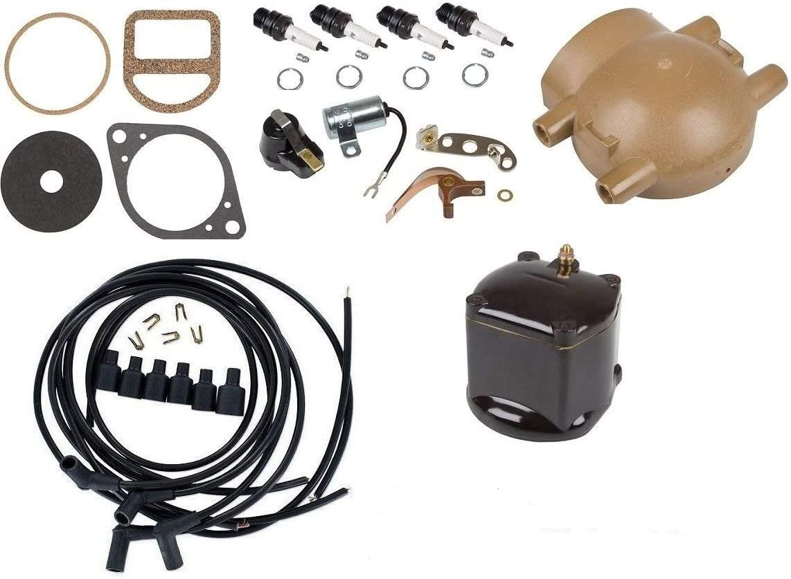 Ignition Tune up kit For Ford 9N 2N 8N Tractor with Front Mount Distributor
