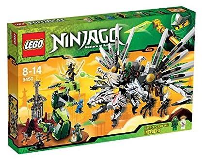 Amazoncom Lego Ninjago 9450 Epic Dragon Battle Discontinued By
