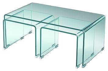 Sen furniture ltd ritz clear glass coffee table nest 3 tables sen furniture ltd ritz clear glass coffee table nest 3 tables watchthetrailerfo