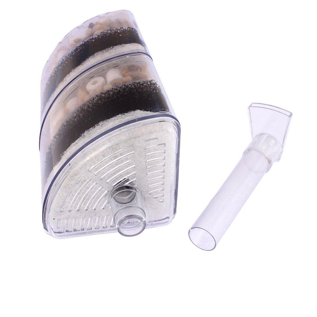 Amazon.com : eDealMax pecera de plástico Aire Impulsado esquina filtro de esponja Bump : Pet Supplies