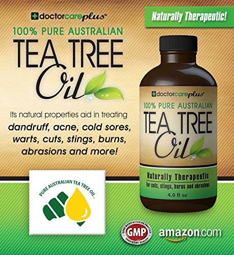 Tea Tree Oil - 100% Pure ATTIA Certified, Pharmaceutical ...
