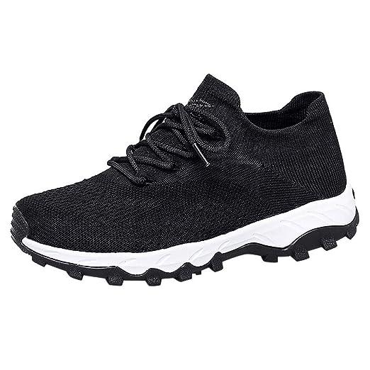 ZODOF zapatillas deportivas hombre Moda comoda Al aire libre Malla Casual Deporte Zapatos Corriendo Respirable Antideslizante Alpinismo Zapatillas(39.5 EU,Azul): Amazon.es: Bricolaje y herramientas