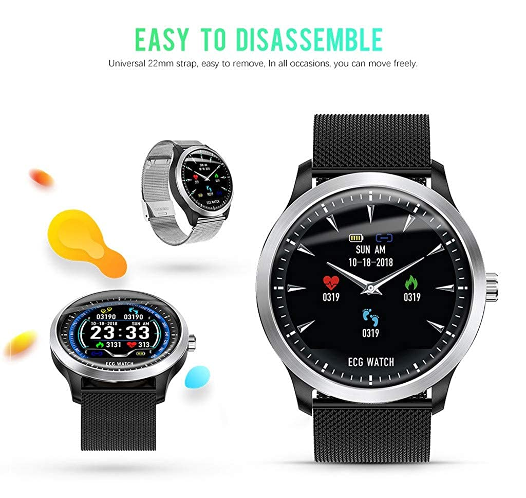 Amazon.com: Star_wuvi Smart Watch,Bluetooth Smartwatch Touch ...