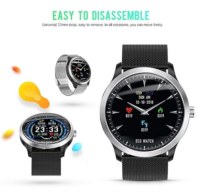 Amazon.com: Star_wuvi Smart Watch,Bluetooth Smartwatch Touch ...
