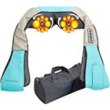 RelaxMate Shiatsu Neck Back Massager with Heat, Deep Kneading Electric Massager for Neck, Back, Shoulder, Legs and Foot- Relieve Body Muscle Pain