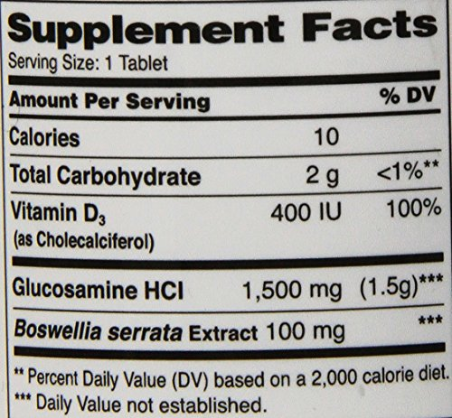 21st Century Glucosamine Daily Complex Plus D Tablets, 60 Count by 21st Century (Image #1)
