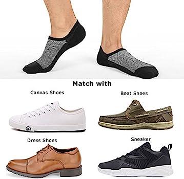 Men 8 pack Cotton Thin Low Cut Non Slip