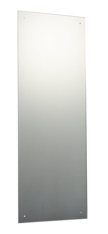 Full length wall mirror frameless home mounted bedroom - Full length bathroom wall mirror ...