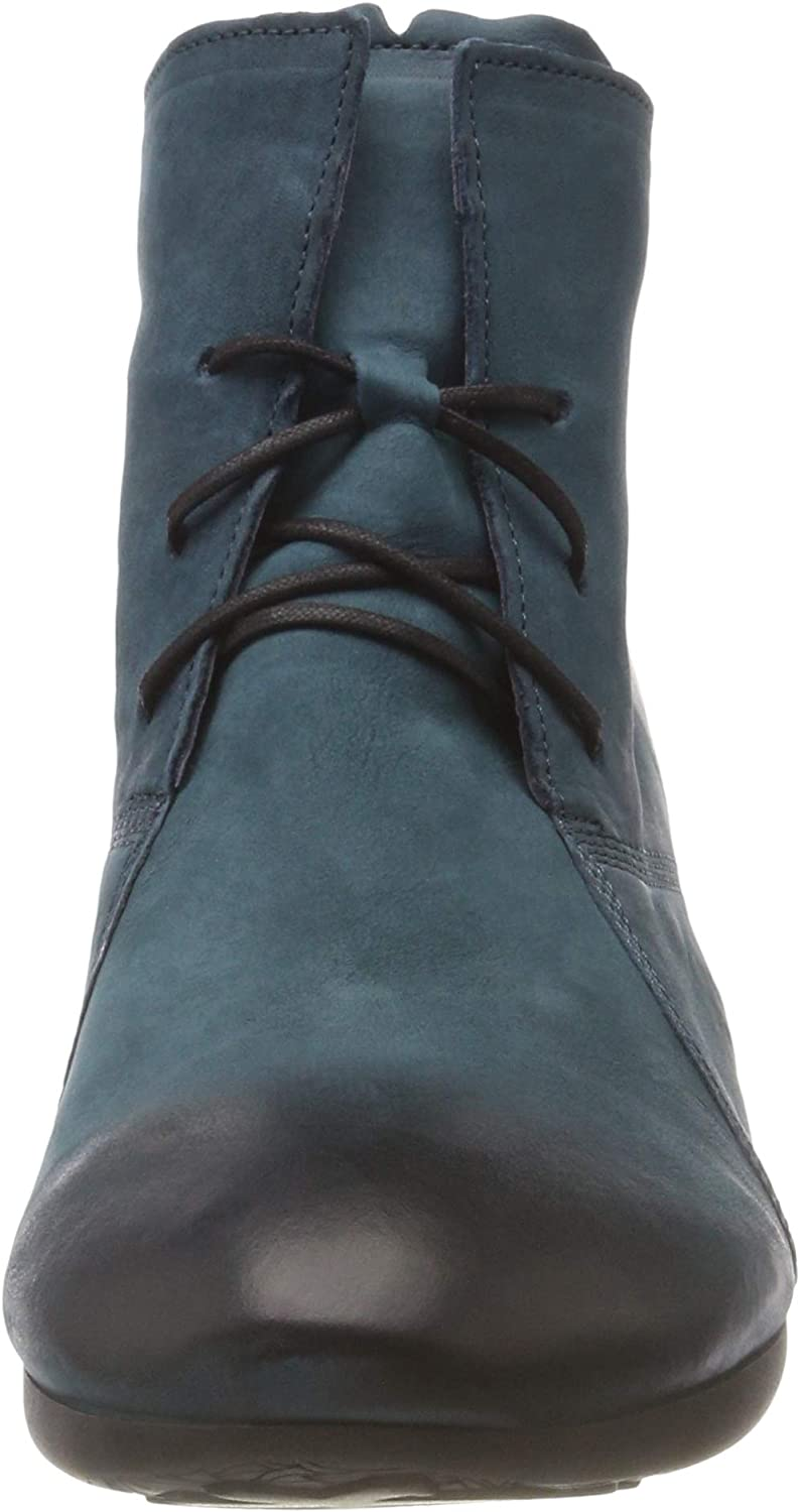 Think! Damen Niah_383155 Desert Boots Blau 87 Atlantic