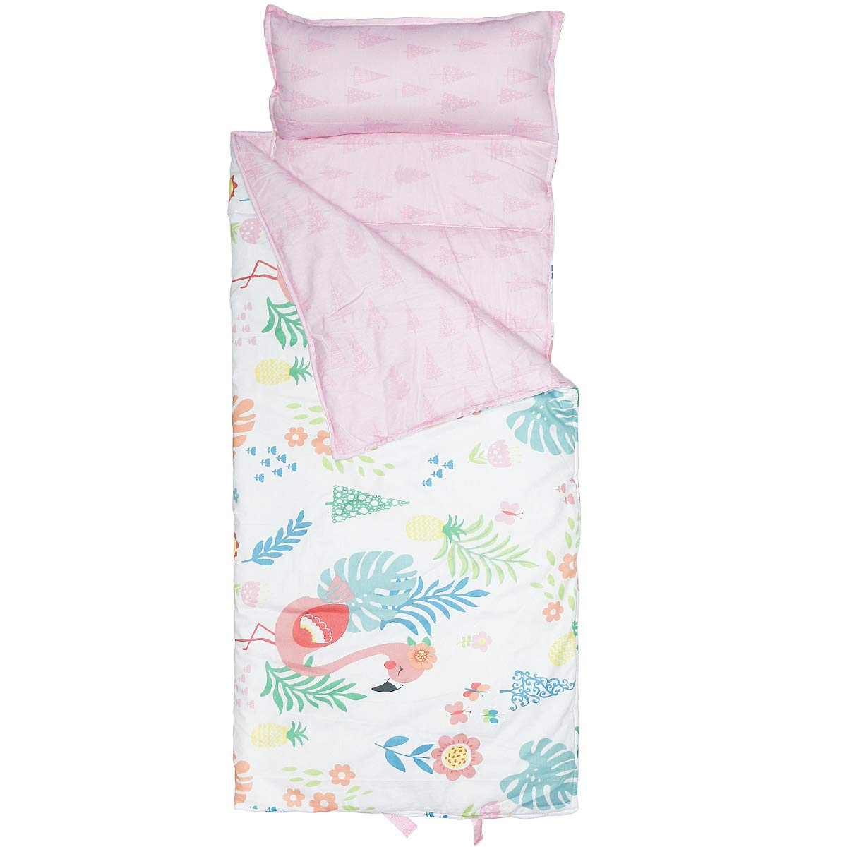 Hi Sprout Kids Toddle Lightweight and Soft Nap Mat (Flamingo) by Hi Sprout
