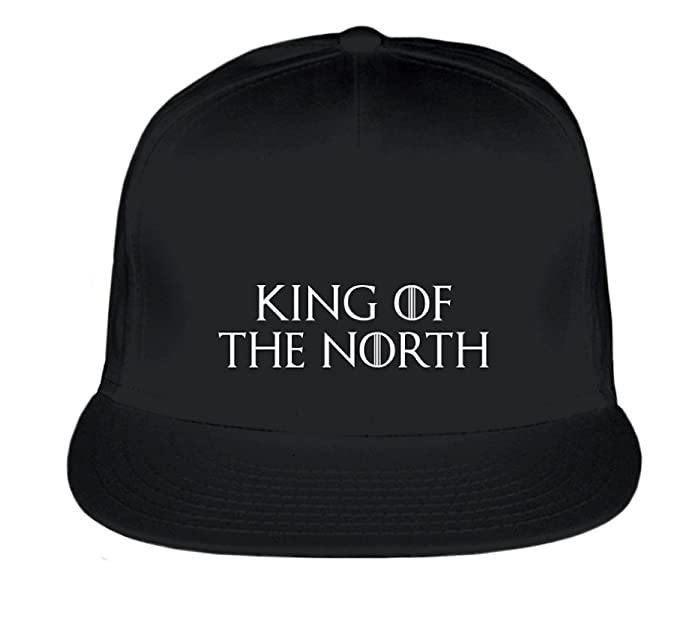 Game of Thrones Inspired  quot King Of The North quot  Embroidered Snapback  Hat ... af5cd8121a7