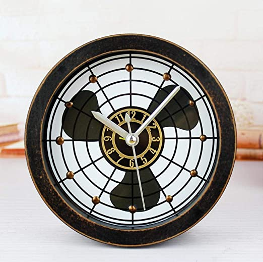 Olydmsky Reloj Antiguo de Mesa,Retro Reloj Despertador Madera ...