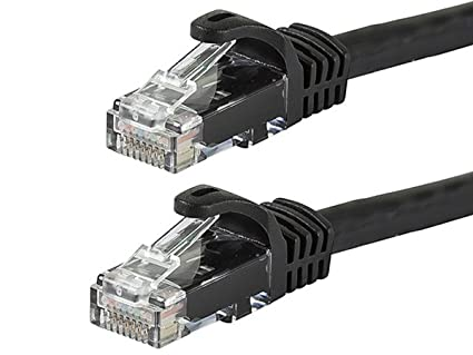 Monoprice Flexboot Cat6 Ethernet Patch Cable - Network Internet Cord - RJ45, Stranded, 550Mhz