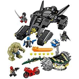 LEGO Super Heroes 76055 Batman: Killer Croc Sewer Smash Building Kit (759-Piece)