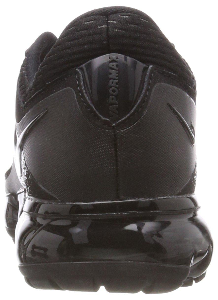 NIKE Kids' Grade School Air Vapormax Running Shoes (Black/Black/Black,5) by NIKE (Image #2)