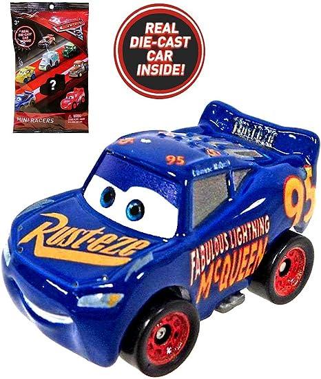 Amazon Com Disney Pixar Cars 3 Real Diecast Mini Racers Fabulous Lightning Mcqueen Sealed Bag Everything Else