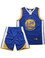 LHWLX 2019 NBA Jersey Warriors No.35 Kevin Durant Traje De Ropa De Baloncesto MasculinoTops