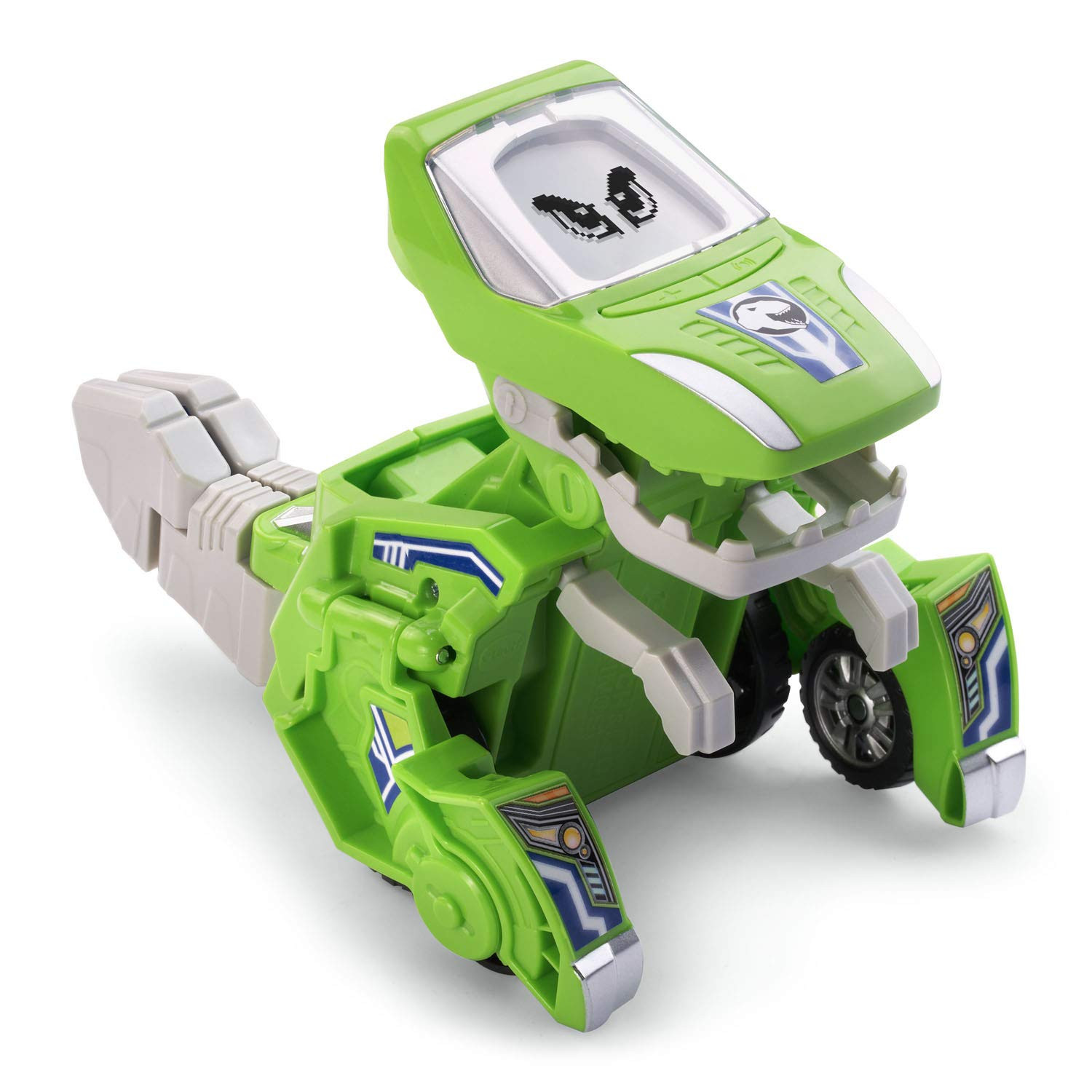 V Tech Switch and Go Dinos - Silver the T-Rex Green by VTech (Image #1)