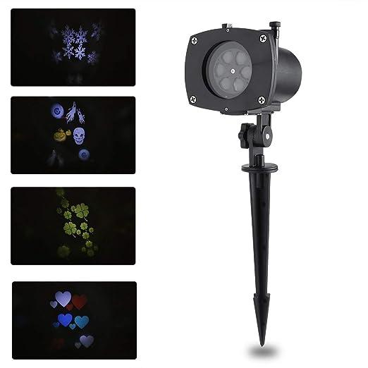 Comomingo - Proyector de luces LED con diseño conmutable de ...