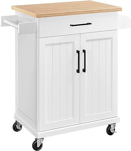 YAHEETECH Kitchen Cart