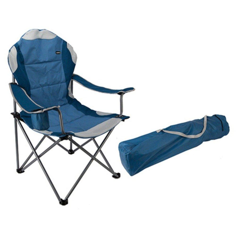 パッド入りRelaxer椅子ハイバックCarry Bag Included – サミット B013BO97IC ブルー ブルー