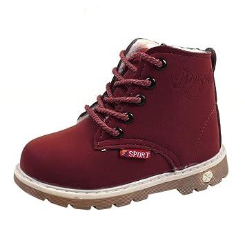 Botas Niño Invierno Amlaiworld Botas de Chicos Chicas Sneaker Patucos  Zapatillas Calientes de Bebé niños niñas 6687f699695