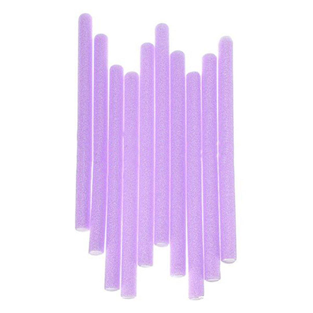 10 Pcs Soft Foam Curler Sticks DIY Hair Design Curl Roller Tool by HAHUHERT (Image #3)