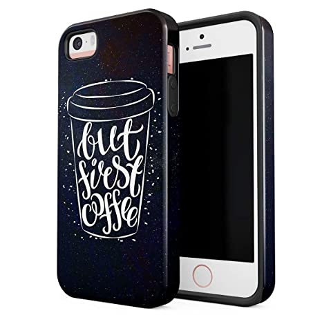 Cover Universe Funda para iPhone 5 & 5s & SE But First ...