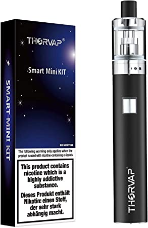 Thorvap Vape Pen Starter Kit - E Cigarettes Starter Kit 1500mAh Battery, E Cig Top Refill 2.0ml Tank with 0.5ohm Coil, Vape Stick, Vape Kit No Nicotine No E Liquid