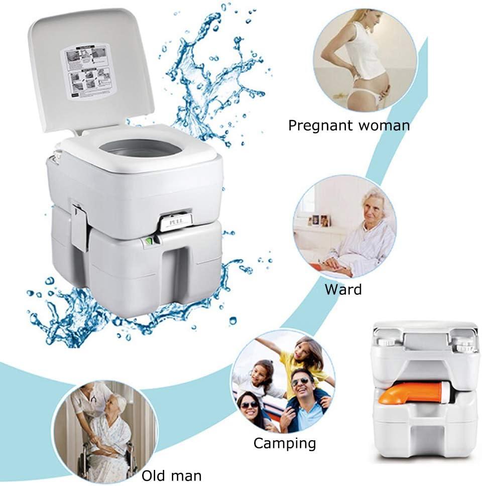 Portátil WC Quimico, 20L Inodoro De Campamento Material De ...