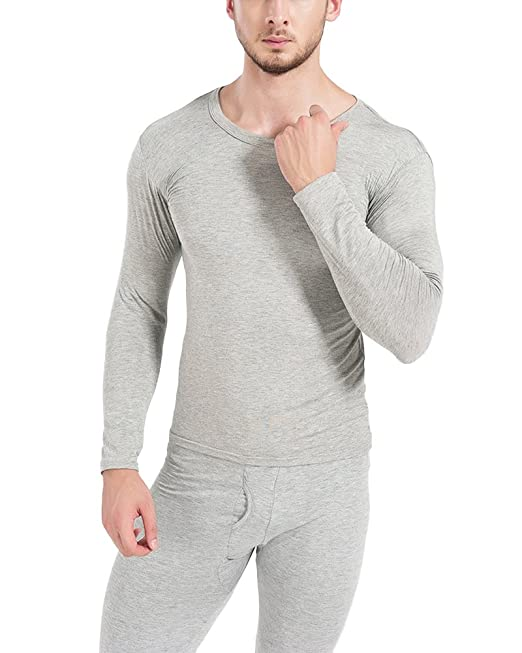 Conjunto De Ropa Interior Térmica Para Hombre Manga Larga Top + Pantalones Rucio 3XL