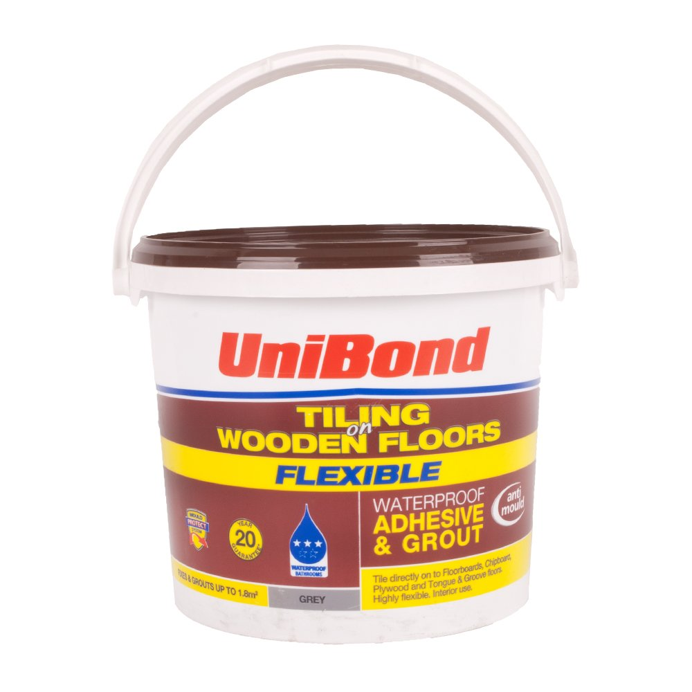 Unibond Floor Tile Adhesive And Grout Grey Thefloors Co