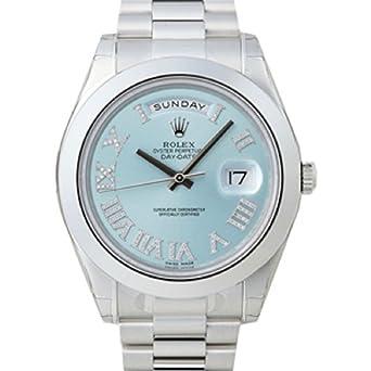 new concept 69940 73e3f Amazon   【ロレックス】 ROLEX 腕時計 デイデイトII 218206 PT ...