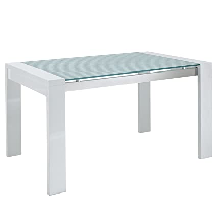 Image Unavailable Not Available For Color Modway Lakeshore Frosted Glass Dining Table