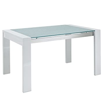 Modway Lakeshore Frosted Glass Dining Table