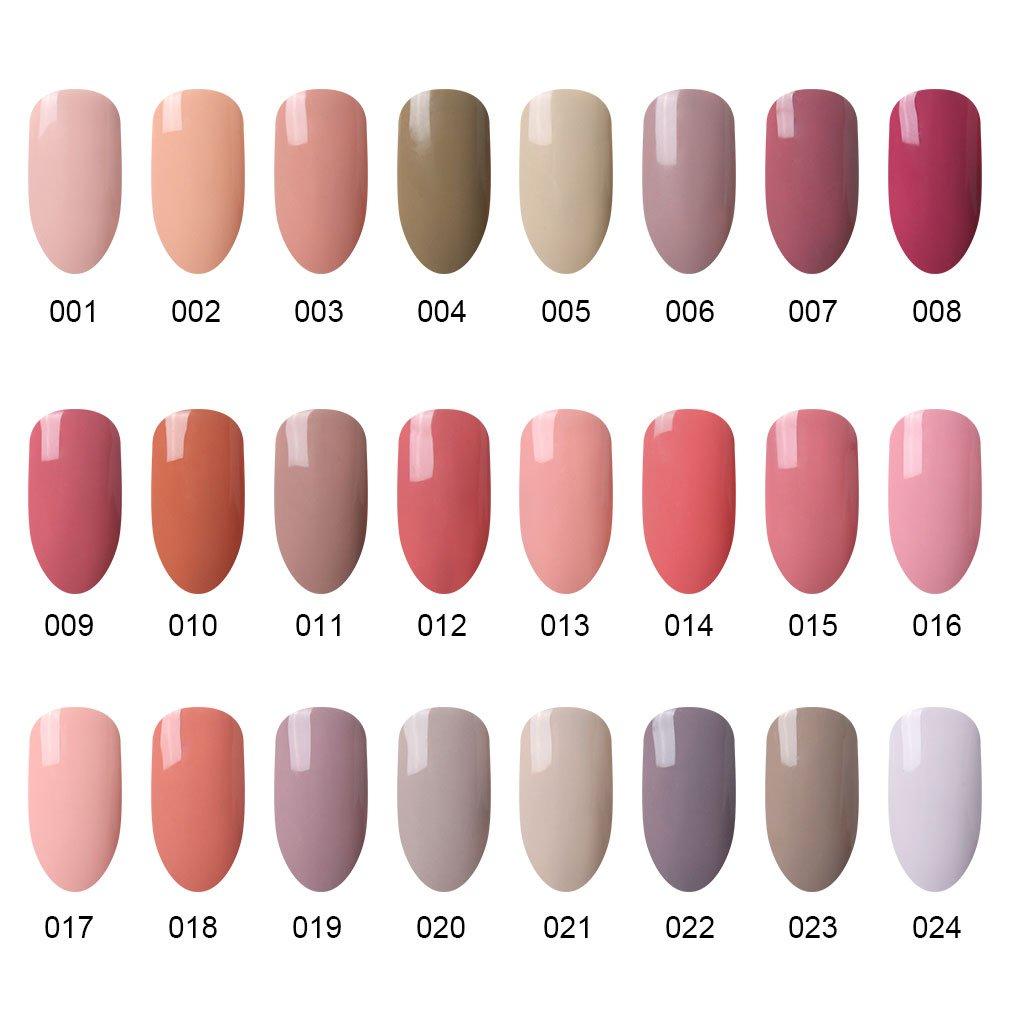 Amazon.com : CLAVUZ Nail Gel Polish Pick Any 6 Colors Collection ...