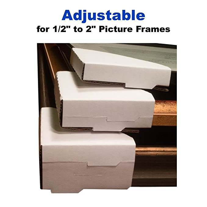 Amazon 24 Adjustable Frame Corner Protectors Professional