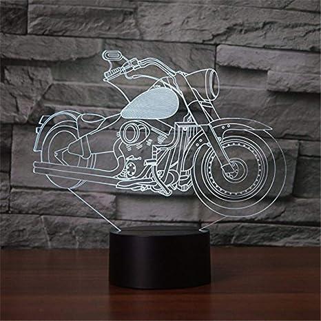 La ilusión óptica de la lámpara visual de Wangzj 3d llevó la ...