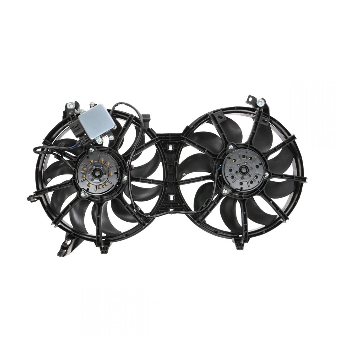 Replacement Parts Dual Radiator Cooling Fan Assembly for Nissan ...