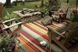Best Outdoor Area Rugs - Mohawk Home Printed Indoor/ Outdoor Avenue Stripes, 5'x8' Review