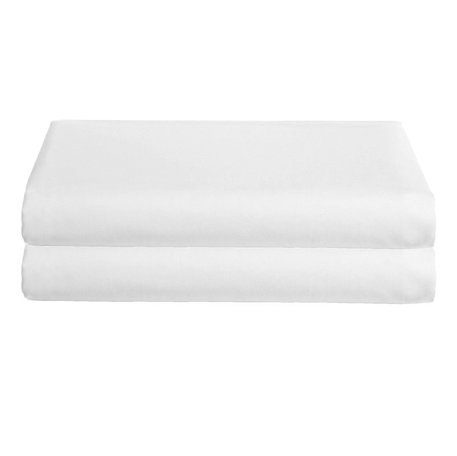 Babydoll Bedding Cotton White Bassinet Sheets Set of Two, 13'' x 29'' by BabyDoll Bedding