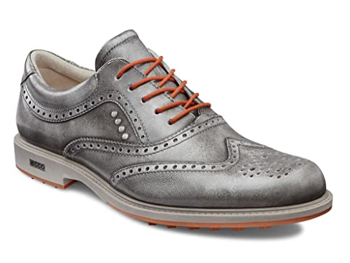 9095ca7723306 ECCO Tour Hybrid White Orange Zapatos de golf Hombre -43 EU  Amazon.es   Zapatos y complementos